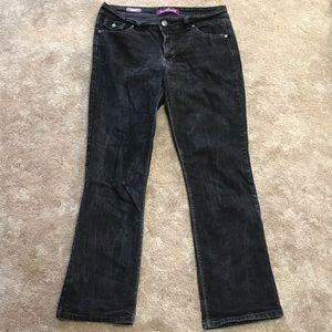Black Boot cut Jeans
